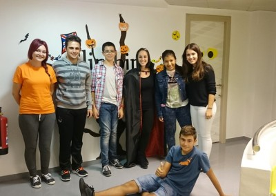 Halloween 2015 academia inglés 16