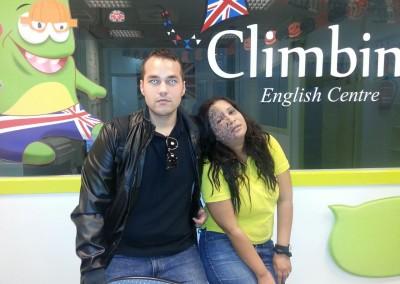 Halloween Climbing English 2014 11