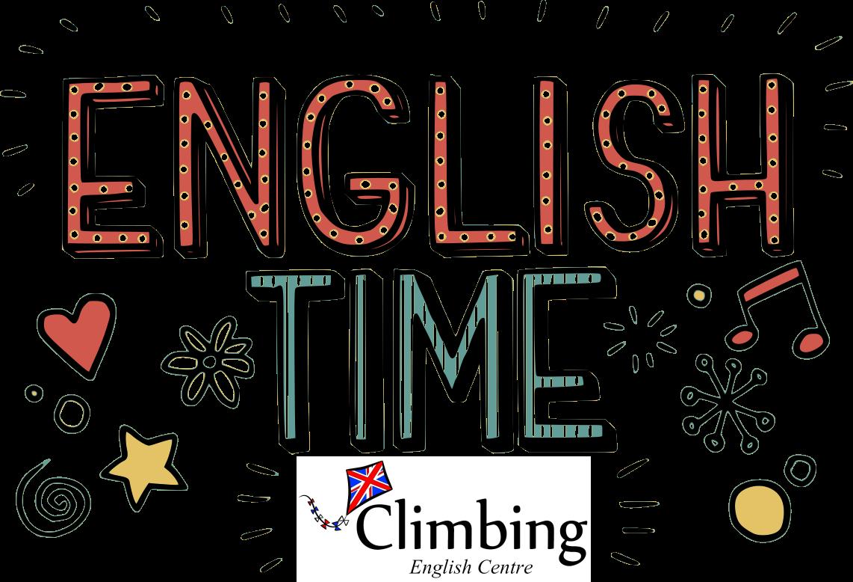 Bienvenida nuevos alumnos climbing english